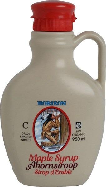 Ahorn siroop C-graad Horizon 950 ml