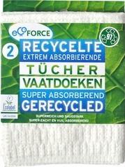 Allesdoekjes gewatteerd gerecycled Ecoforce 2 st