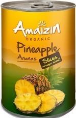 Ananasschijven op sap Amaizin 400 ml