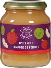 Appelmoes Your Organic Nature 355 gram