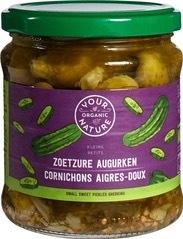 Augurken zoet-zuur Your Organic Nature 330 gram
