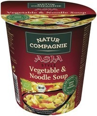 Aziatische groentesoep instant Natur Compagnie 55 gram
