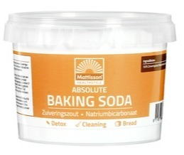 Baking soda zuiveringszout Mattisson 300 gram