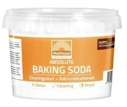 Baking soda zuiveringszout Mattisson 300 gram