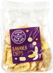 Bananenchips Your Organic Nature 160 gram