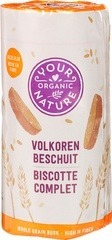 Beschuit volkoren Your Organic Nature 125 gram