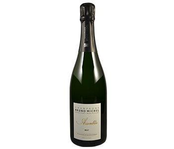 BIO Champagne assemblée brut Bruno Michel Wit 0,75 l