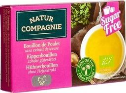 bouillon blokjes kip gist/suikervrij Nature Compagnie 80 gram