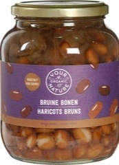 Bruine bonen Your Organic Nature 680 gram