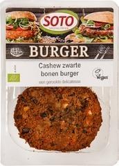 Vegetarisch Cashew-zwarte bonen burger Soto 160 gram