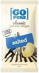 Chips naturel gezout Go Pure 125 gram