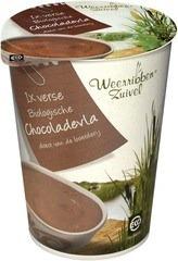 Chocolade vla Weerribben