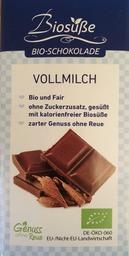 Chocoladereep melk Biosüße Bio, 40 gram