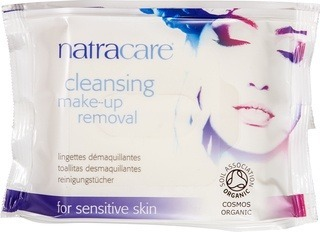 Cleansing make-up remover Natracare 20 st