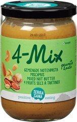 Notenpasta terrasane TerraSana 500 gram 4-Mix