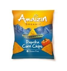 Corn chips paprika Amaizin 75 gram