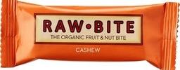 Fruit & nut bite cashew (fruit en noot reep suiker vrij) raw.bite 50 gram