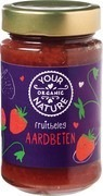 Fruitbeleg Aarbeien jam Your Organic Nature