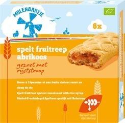 Spelt fruitreep abrikoos Molenaartje 180 gram