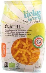 Fusilli pasta Lieke is vrij 500 gram