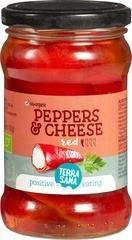 Gevulde Rode Pepers TerraSana 270 gram