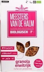 Granola Meesters van de Halm 350 gram eiwitrijk