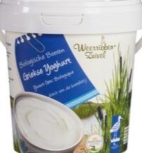 Griekse yoghurt Weerribben Zuivel 800 gram in emmertje