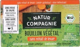 bouillon blokjes groente gistvrij 80 gram Natur Compagnie