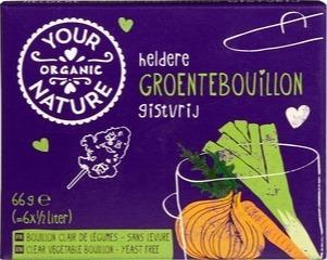 Bouillon blokjes groente