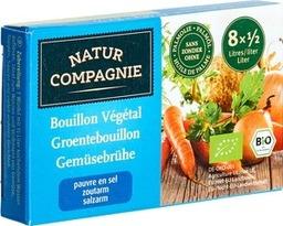 bouillon blokjes groente zoutarm Natur Compagnie 68 gram x 12 1,30