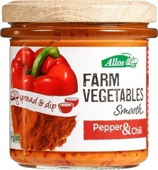 Groentespread paprika - chili Allos 135 gram