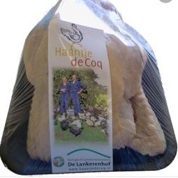 Haantje de Coq medium 800-1000 gram (diepvries)