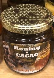 Honing met Cacao De Valksche Bijenhof 212 ml