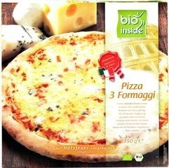 Houtoven pizza 3-kazen Bio Inside 350 gram