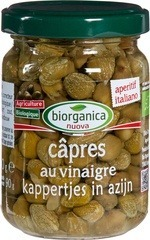 Kappertjes in azijn Biorganica Nuova 140 gram
