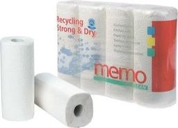 Keukenrol 3-laags Memo 4 st