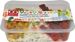 Kruidige lamscurry De Oorsprong 450 gram 9 (OP BESTELLING)