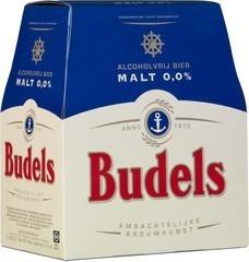 Malt 0.0% 6-pack Budels 330 ml