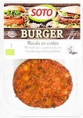 Vegetarische Masala-erwten burger Soto 160 gram