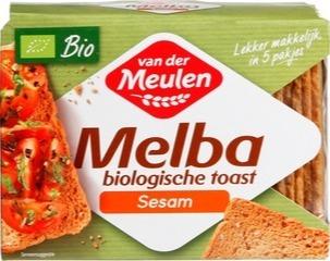 Melba toast v.d.Meulen 100 gram