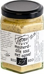 Mosterd-dille saus agave Tons Mosterd 170 ml