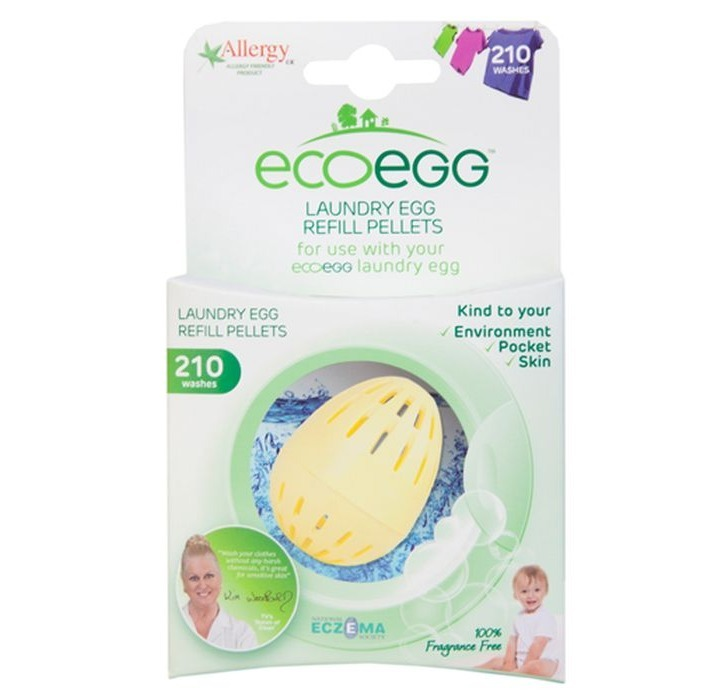 Navul eco egg wasbol parfum vrij