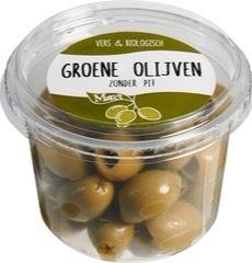 Olijven groen  Marqt 125 gram