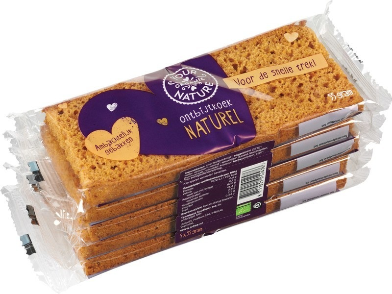 Ontbijtkoek naturel Your Organic Nature 275 gram