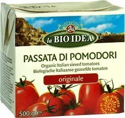 Passata of gezeefde tomaten La Bio Idea 500 gram
