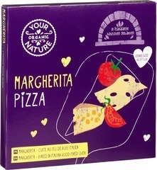 Pizza margherita Your Organic Nature 350 gram