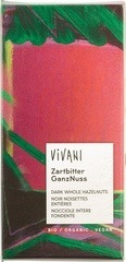 Pure chocolade - hazelnoot Vivani 100 gram