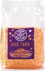 Rode linzen Your Organic Nature 400 gram