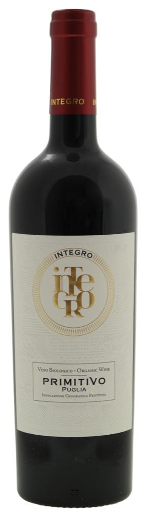 rode wijn Integro Primitivo Puglia 2018