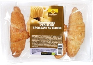 Roomboter croissants Zonnemaire 4 st